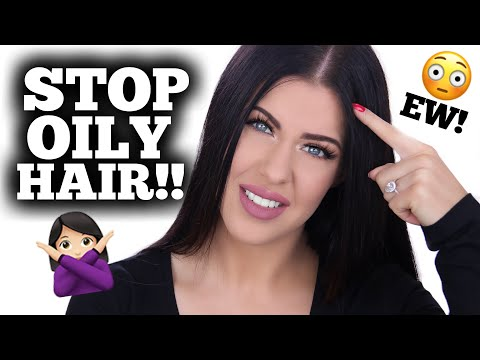 HOW TO STOP OILY/GREASY HAIR!!! LIFE CHANGING HAIR HACK!!!